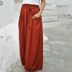 Zara Trafaluc Parachute Cargo Pants